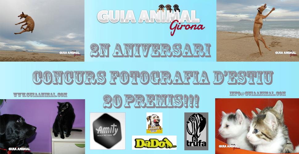 Concurs 2n Aniversari Guia Animal