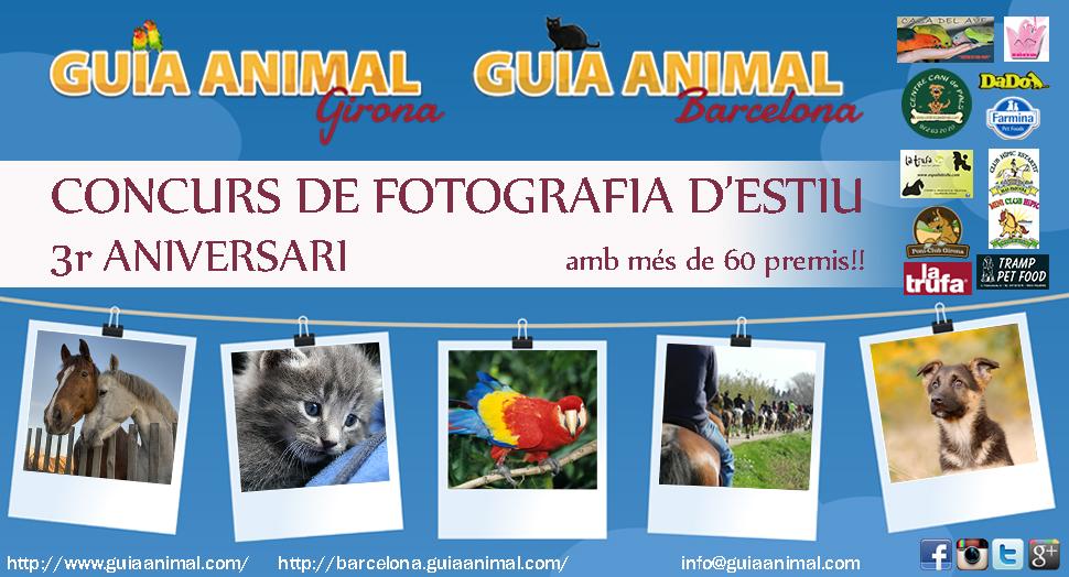 Concurs 3r Aniversari Guia Animal